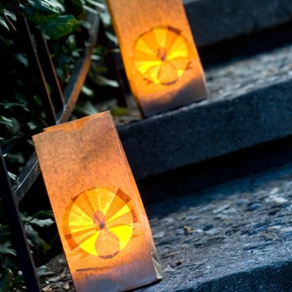 Thanksgiving Turkey Luminarias