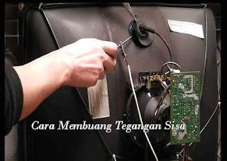 Cara Mudah Mengganti Mesin TV Tabung
