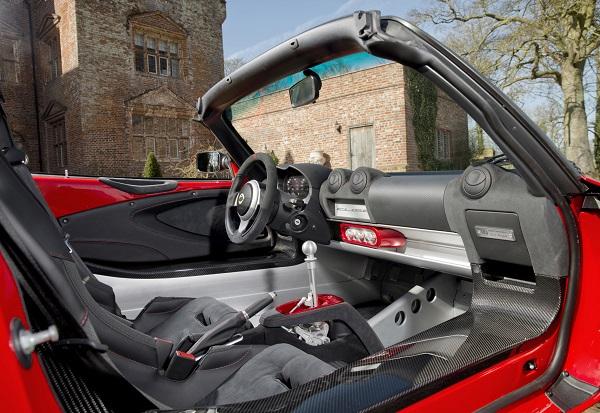 Interior Lotus Elise Sport