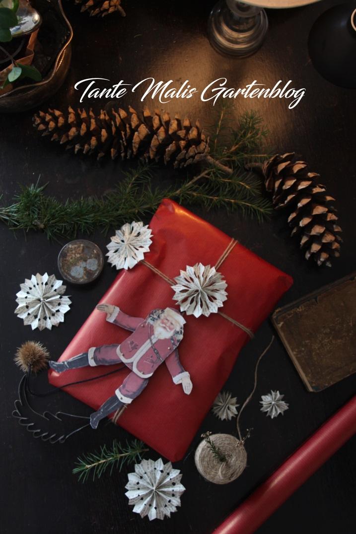 Eingepackte Weihnachtsgeschenke