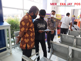 Tim Lemdiklat Polri Cek Pelayanan SIM Di  Satpas 1421 Satlantas Polrestabes Semarang Polda Jateng