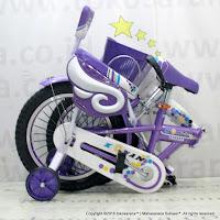Sepeda Lipat Anak Kouan 1601 Hexagon 16 Inci