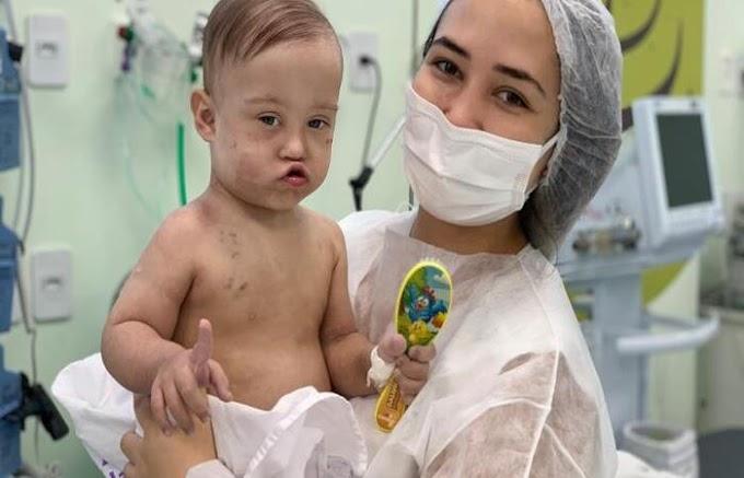 Milagre: Bebê com câncer, cardiopatia e sindrome de down vence a Covid-19