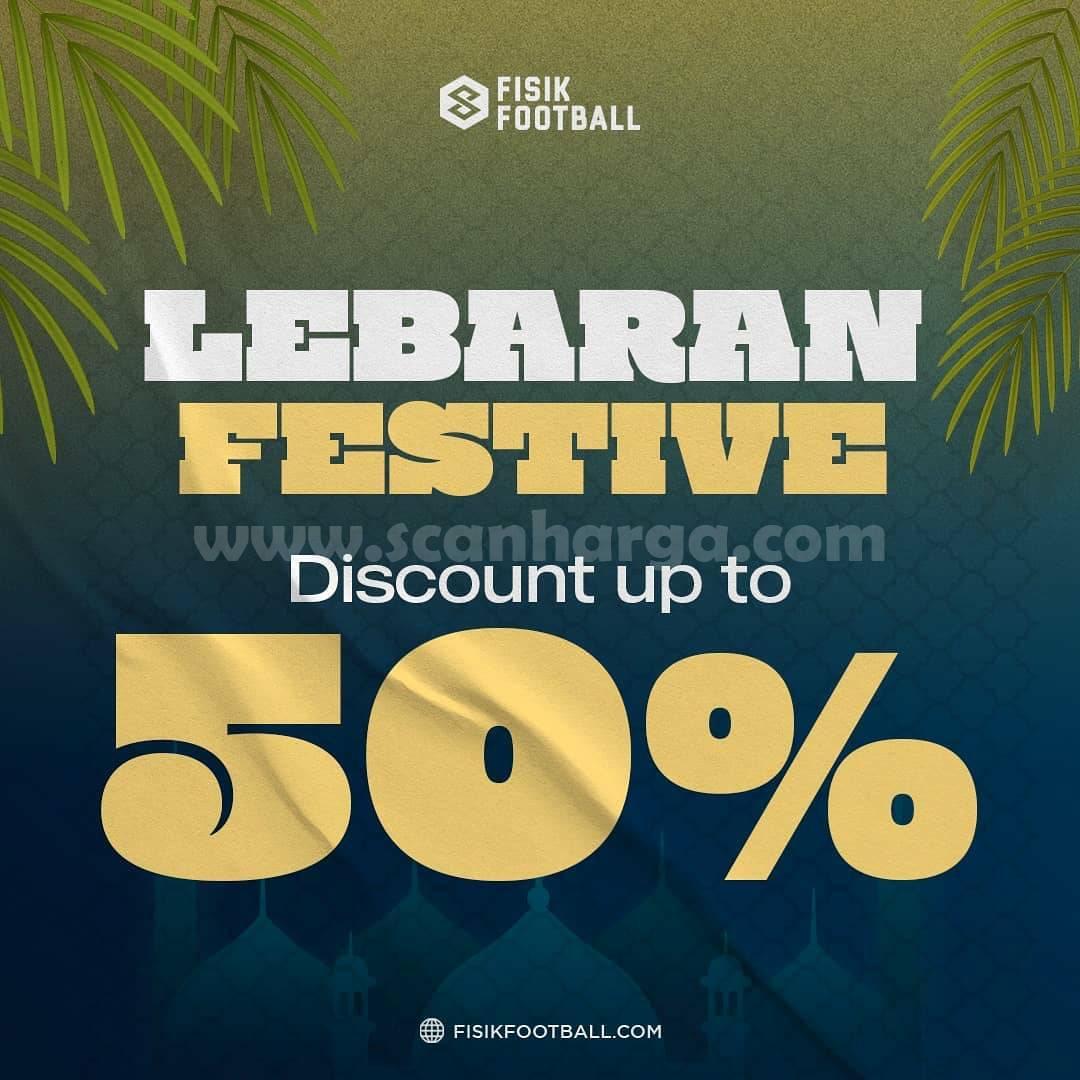Promo FISIK FOOTBALL LEBARAN FESTIVE -- DISKON 50%