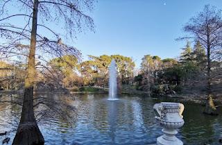 Parque de El Retiro, Madrid. Palacio de Cristal.