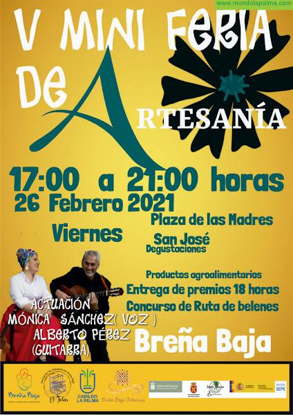 BREÑA BAJA: Alberto y Mónica en la Mini Feria de Febrero