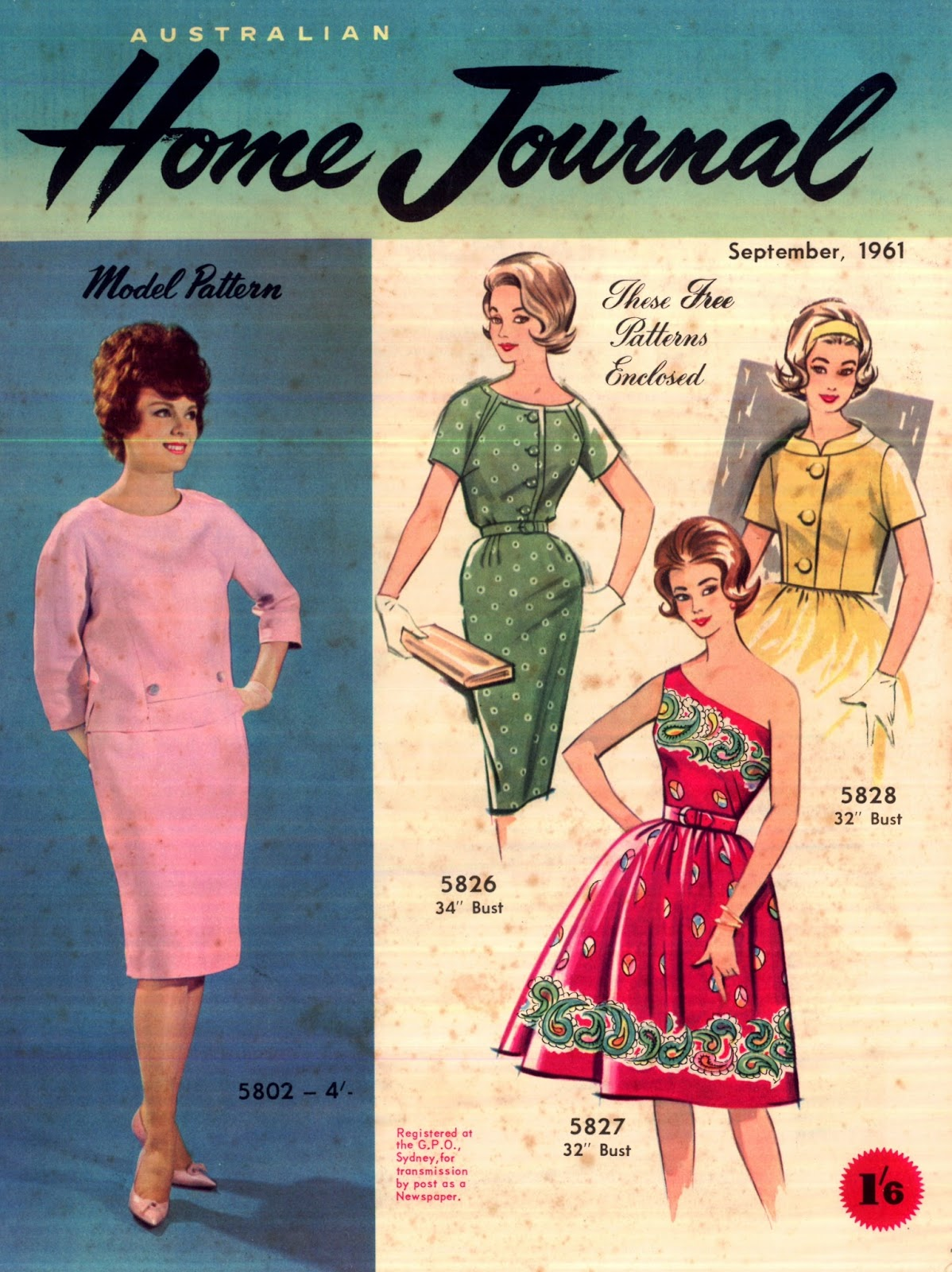 Kitten Vintage: The Winners...and 1961 Fashion
