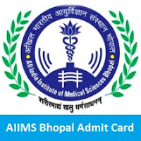 AIIMS Bhopal Admit Card