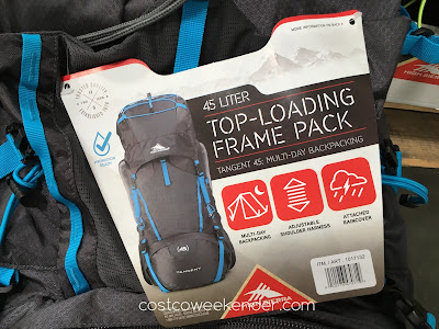 High Sierra Tangent 45 Top-Loading Frame Pack: the perfect travel companion for your adventures