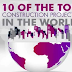 Top 10 Modern Construction Marvels #infographic