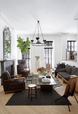 modernes Wohnzimmer Dekor