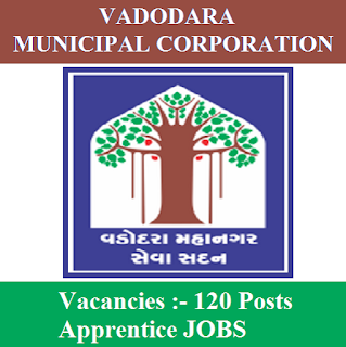Vadodara Municipal Corporation, VMC, Apprentice, ITI, 10th, Gujarat, freejobalert, Sarkari Naukri, Latest Jobs, vmc logo