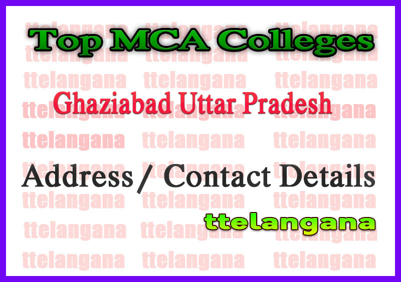 Top MCA Colleges in Ghaziabad Uttar Pradesh