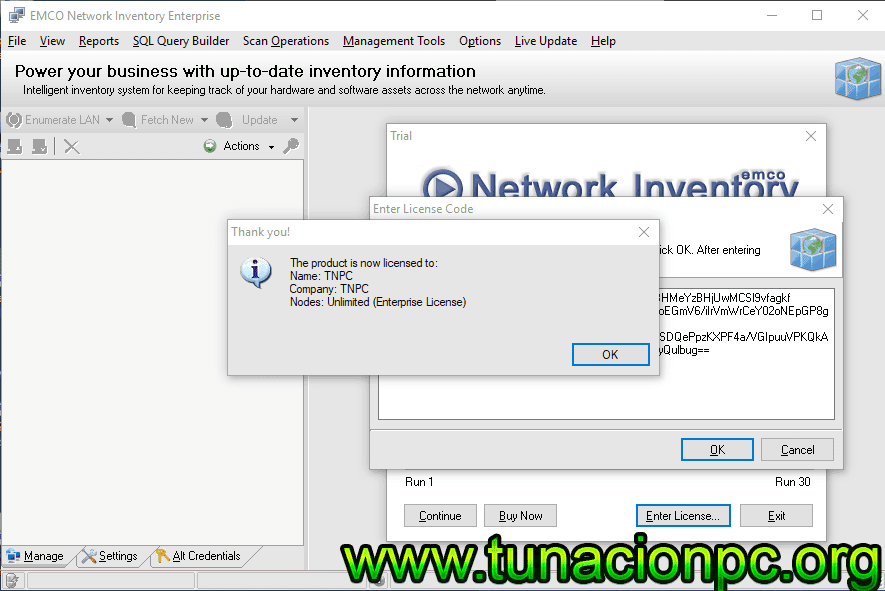Descargar EMCO Network Inventory Enterprise