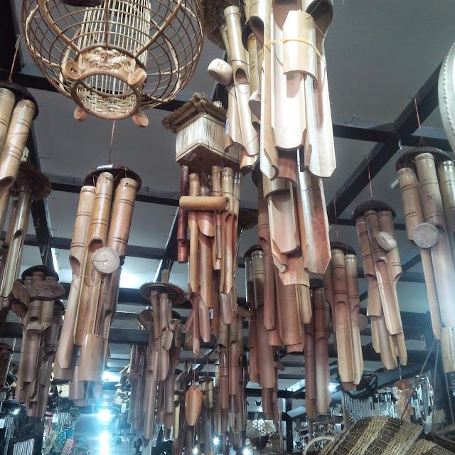 Lonceng angin dari bambu