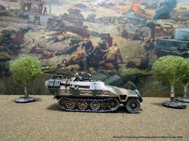 1/72 Plastic Soldier Company SdKfz 251/D variants