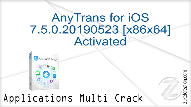 AnyTrans for iOS 7.5.0.20190523 [x86x64] Activated   |  182 MB