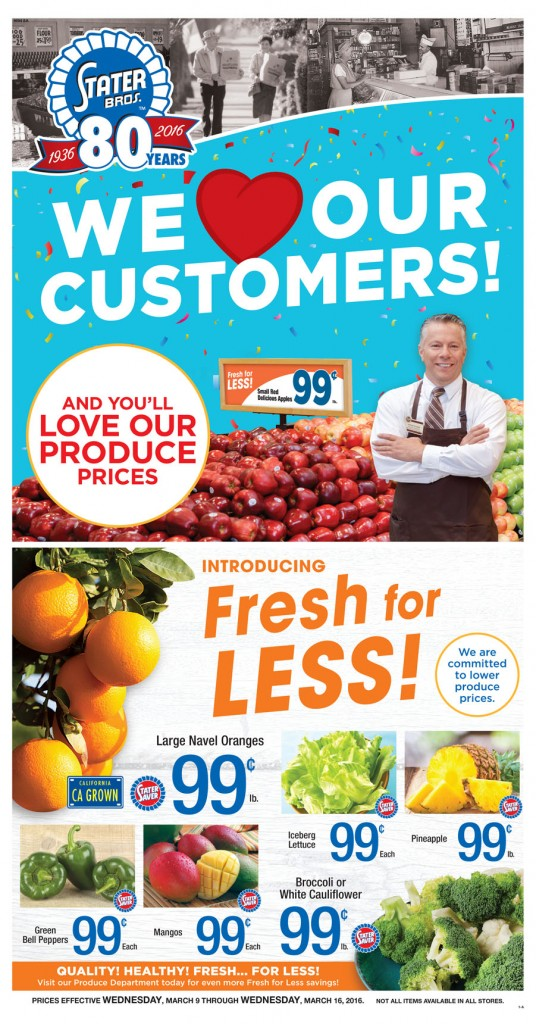 Stater brothers coupons