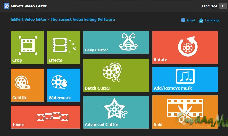 GiliSoft Video Editor 11.2.0 Terbaru