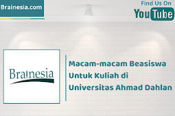 Macam-macam Beasiswa Kuliah di Universitas Ahmad Dahlan