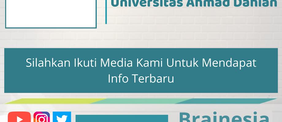 Berbagai Macam Beasiswa Kuliah di Universitas Ahmad Dahlan