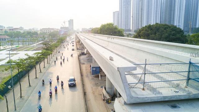 Cận cảnh dự án Metro (Nhổn - Ga Hà Nội)
