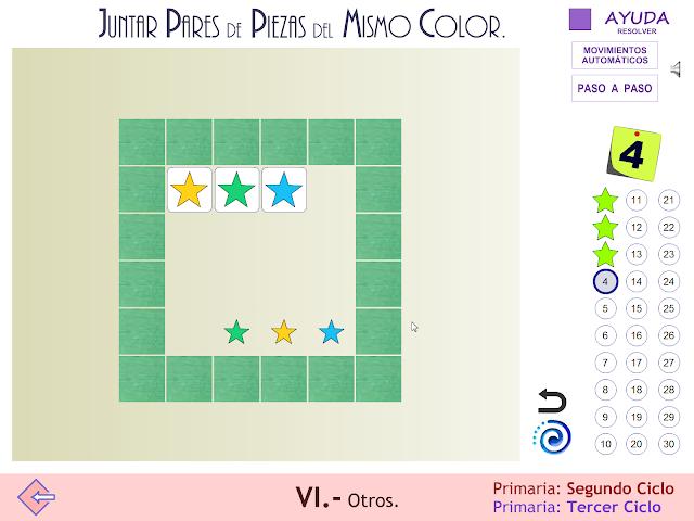 Proyecto MATE.TIC.TAC. Juegos de estrategia. Juntar piezas del mismo color_2