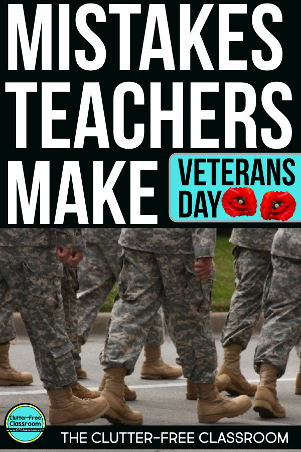 Veterans Day Activities For Kids Clutter Free Classroom