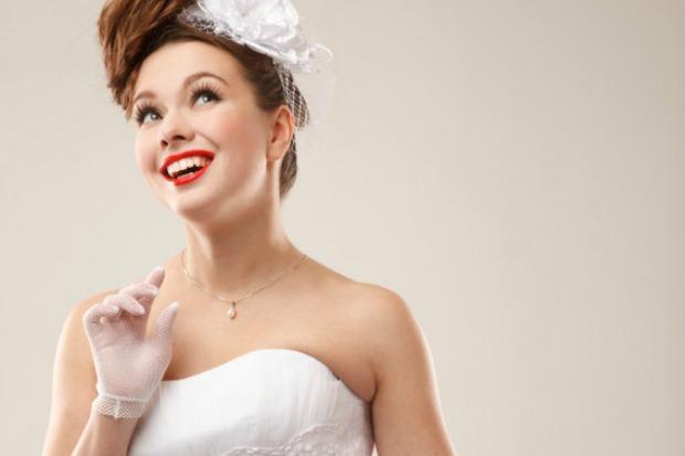 maquillaje pin up para novia