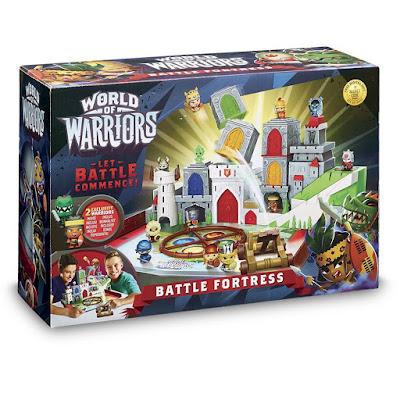 TOYS : JUGUETES - WOW World Of Warriors La Fortaleza Playset Giochi Preziosi 2016 | Comprar en Amazon España