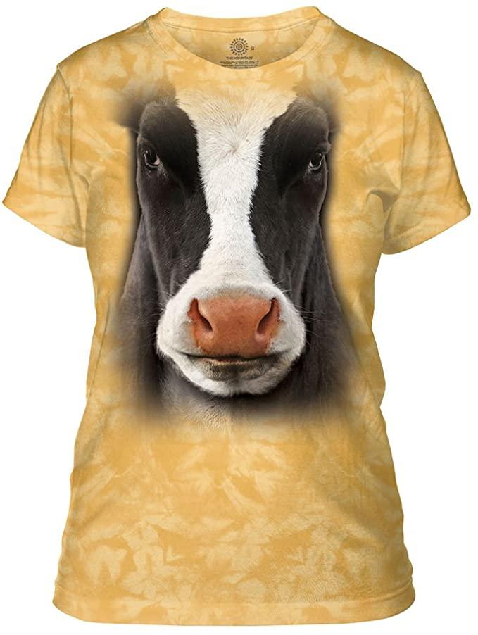 Camiseta - vaca - the - mountain - vacaslecheras.net