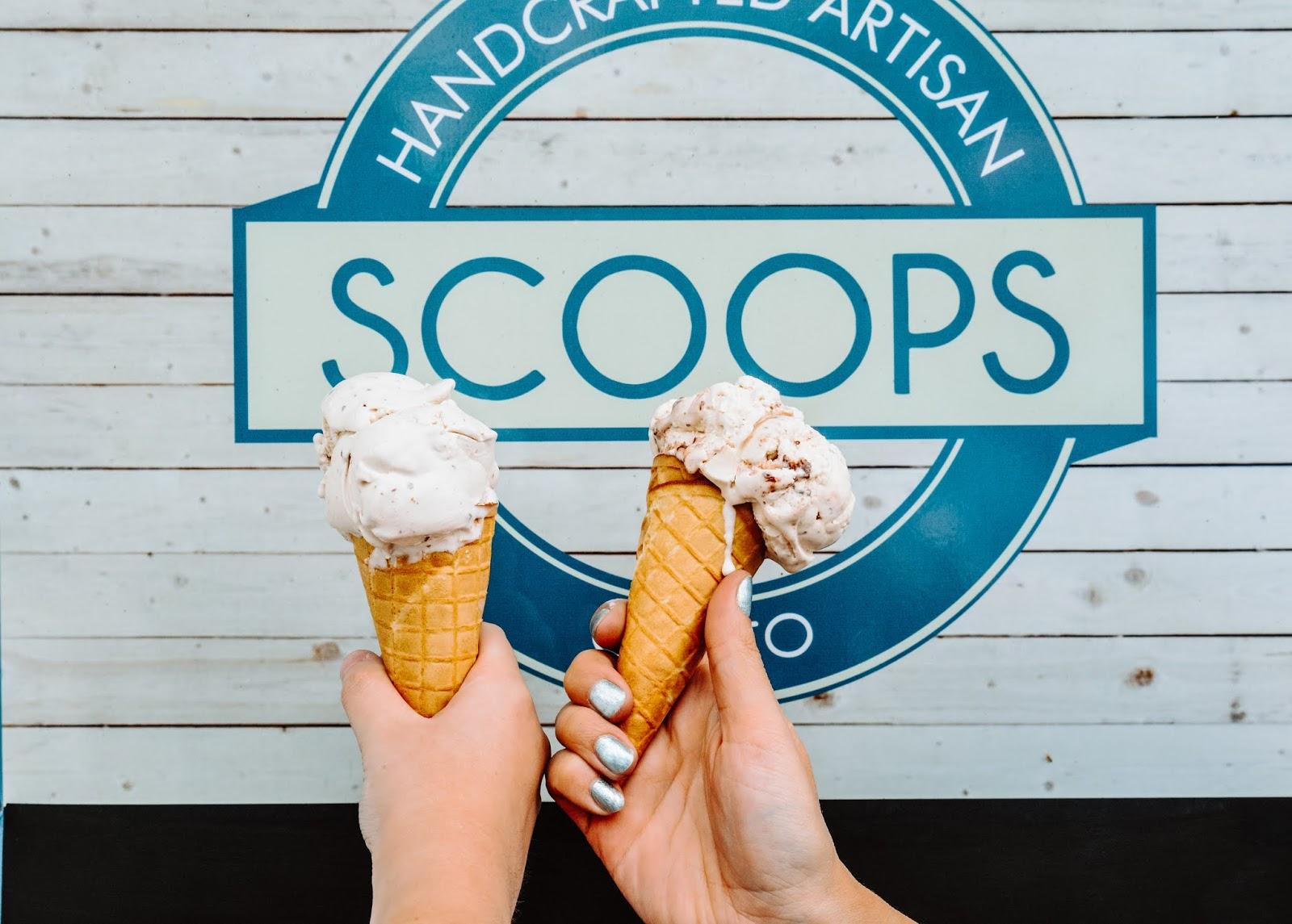 Scoops Ice Cream Cobh, Ireland
