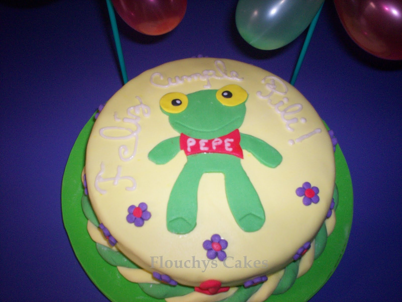 Pepe The Frog Cake Pops