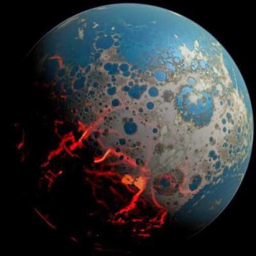 Permukaan Bumi 4 Miliar Tahun Lalu