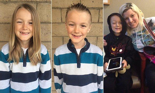Τραγική ειρωνεία! Θυμάστε τον 7χρονο που μεγάλωνε τα μαλλιά του για τα καρκινοπαθή παιδιά; Δείτε τι έπαθε…