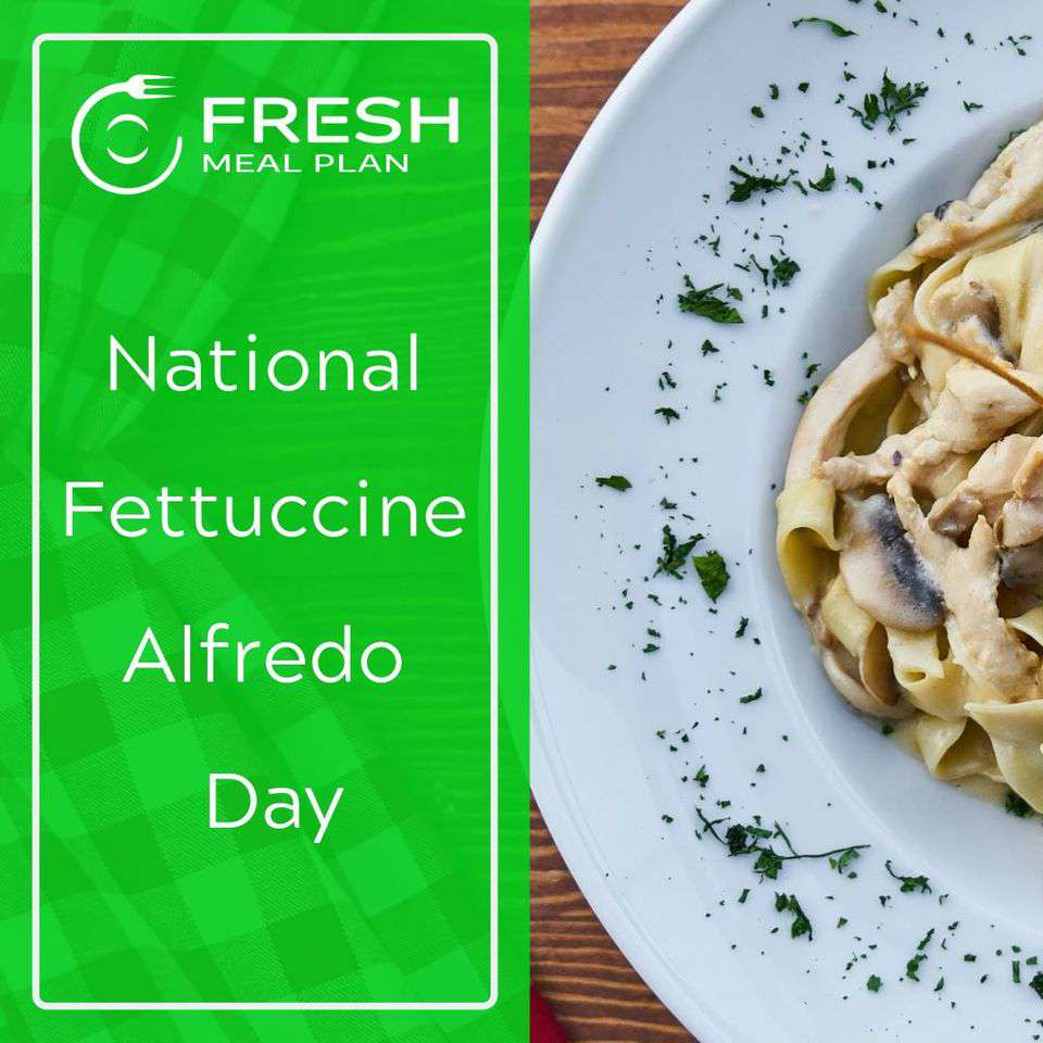 National Fettuccine Alfredo Day Wishes for Instagram