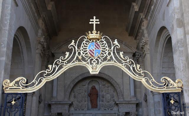 Portique du porche de la Cathédrale Sainte-Marie d'Auch