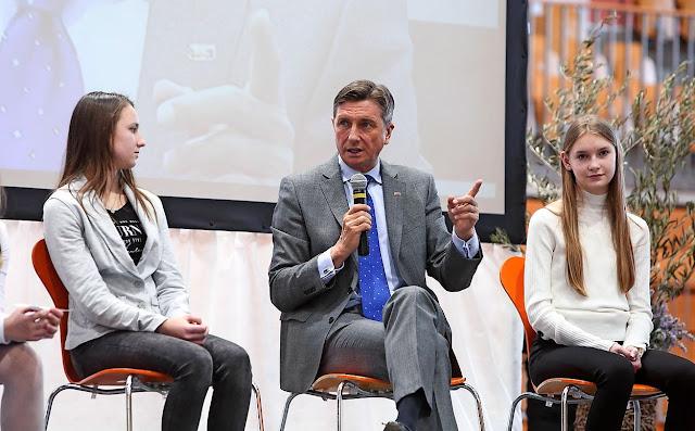 Τίμησαν τον Καποδίστρια σε σχολείο της Σλοβενίας παρουσία του Πρόεδρου της Δημοκρατίας Borut Pahor