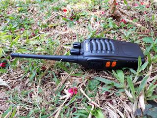 Handy Talky HT Baofeng BF-888S BF888S New UHF 3W Walkie Talkie Sisa Stok