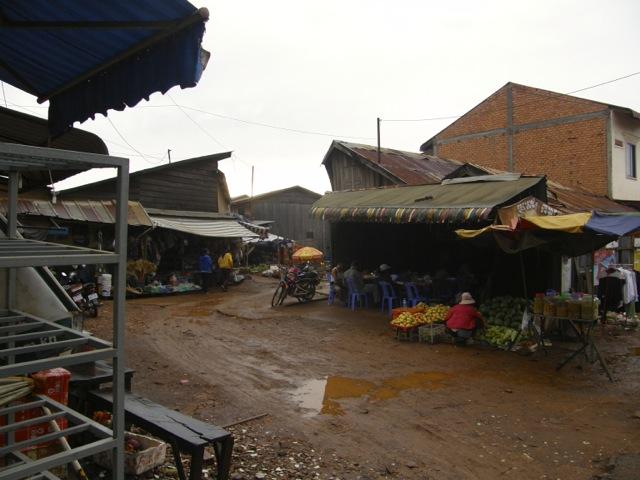 Traveling to Sen Monorom in Mondulkiri province, Cambodia