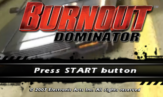Burnout Dominator PPSSPP Highly Compressed