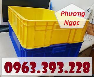 Thùng nhựa cao 15, thùng nhựa đặc HS007, thùng nhựa có nắp 20180407_115858