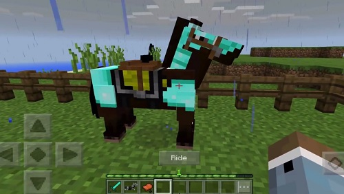 """Horse là Mob """"tự nhiên"""" rất là hữu dụng"""