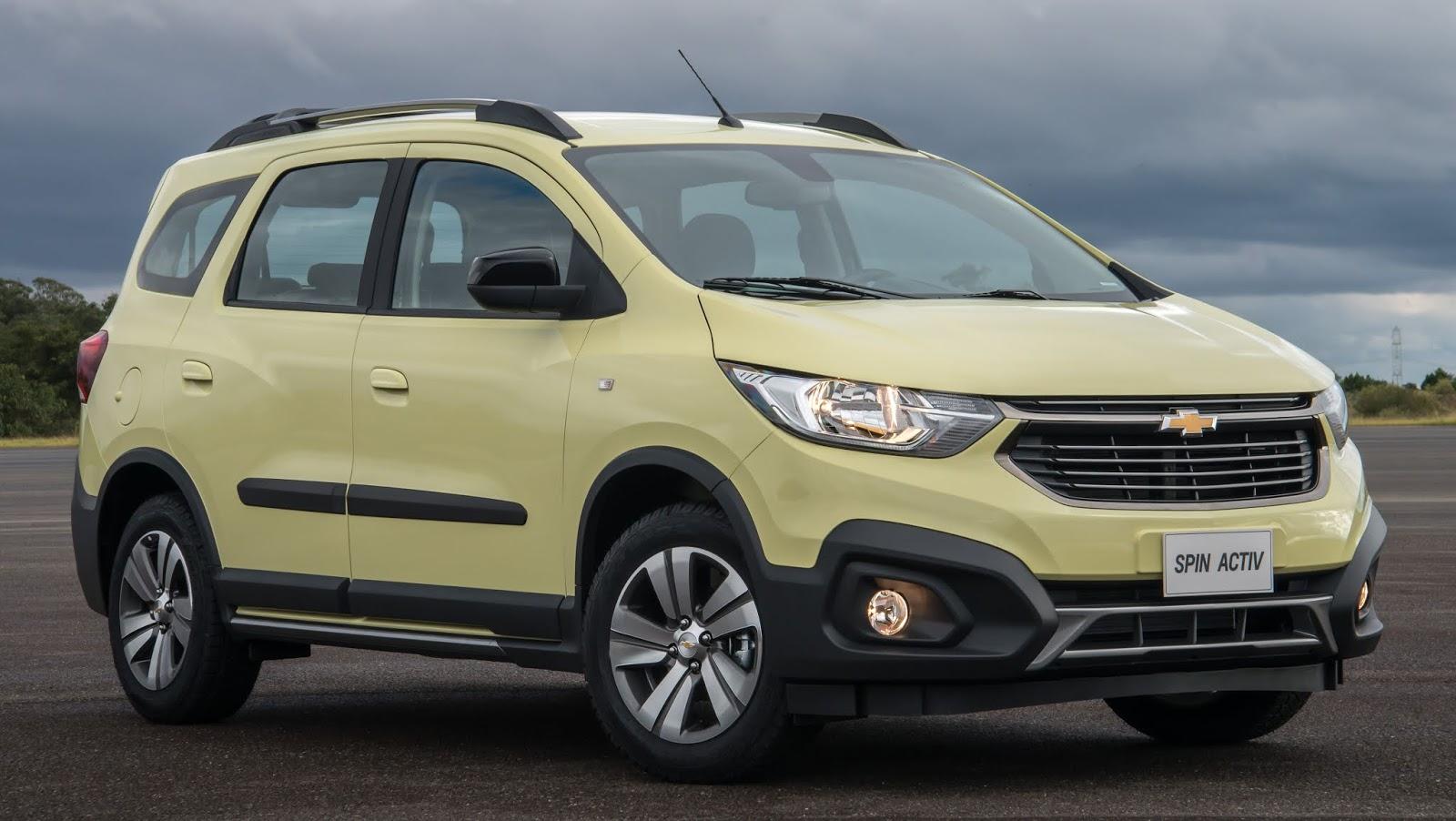 a258c6fad786a Chevrolet Spin Activ chega à linha 2019 reestilizada e com 7 lugares