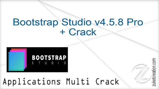 Bootstrap Studio v4.5.8 Pro + Crack