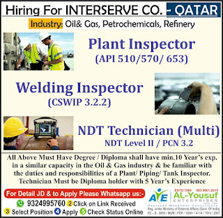 Interserve Company Required for Qatar