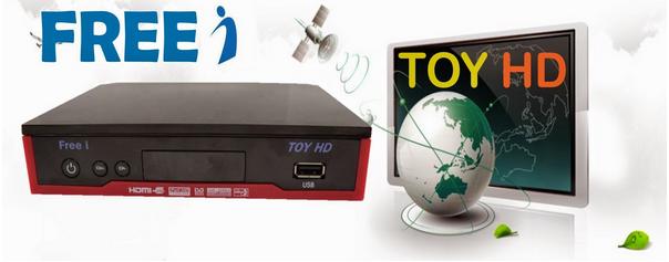 Atualizacao do receptor Freei Toy HD V