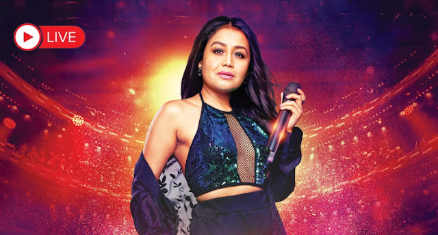 Neha kakkar's Mahi vee Live event