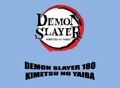 Demon Slayer 180 Kimetsu No Yaiba Release Date