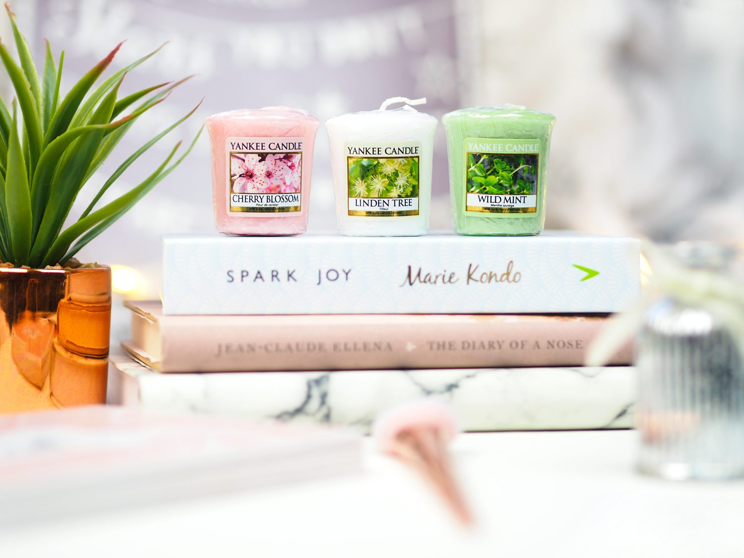 Yankee Candle Pure Essence Collection 2017